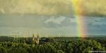 Trappisten met regenboog