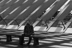 Station Antwerpen eenzaam