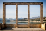 In the picture 29 - Thema: Landschap in arcadisch perspectief - Embalse de los Bermejalis