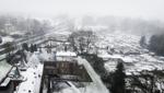 Sneeuw op het Cenakel en de Kempenbaan