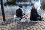 Straat picnic