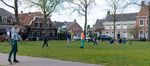 Tijdens corona op het Vrijthof in Hilvarenbeek