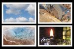 Water, lucht, vuur en aarde