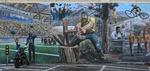 Muurschildering 2